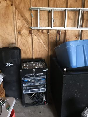 Dj equipment Check my other items on my page 👍 for Sale in Beach Park, IL
