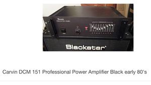 Carvin DCM 151 power amp for bass, guitar or vocal for Sale in Bozeman, MT