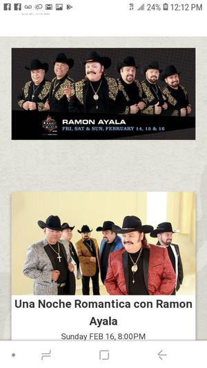 Ramon Ayala in concert!!! for Sale in Montebello, CA