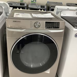 Samsung Champagne Front Load Dryer for Sale in Pompano Beach, FL