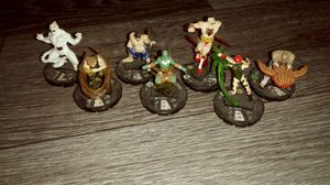 Selection Lot of Street Fighter board game figurines for Sale in Columbus, OH