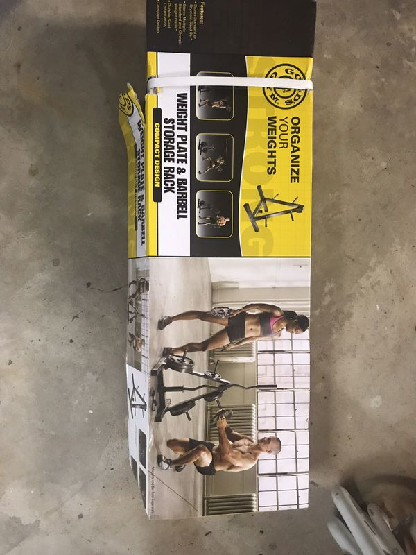 Golds gym weight rack - new in box