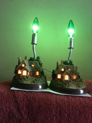 2 table lamps / night lights for Sale in Lutz, FL