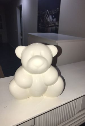 White Royal Boch porcelain bear for Sale in Irwindale, CA