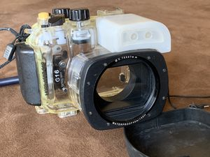 Underwater Housing 40m 130ft Dicing Case for Canon G15 or G16 with O ring Gasket for Sale in Phoenix, AZ