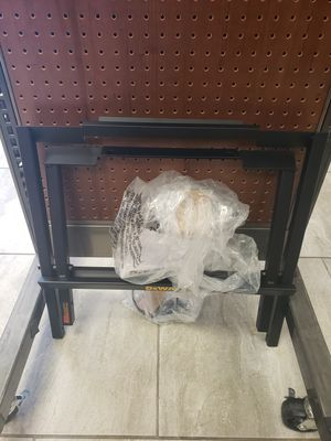 Dewalt table saw stand! for Sale in Clermont, FL