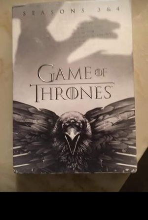 Game of Thrones Seasons 3 & 4 for Sale in Greenville, MS