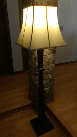 Pottery Barn oil rubbed bronze floor lamp for Sale in Dallas,  TX