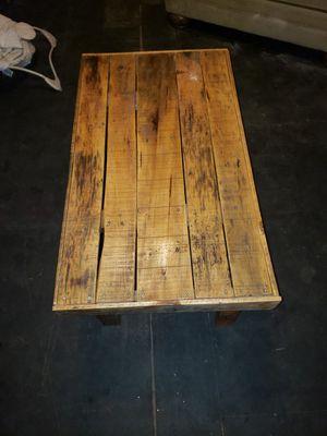 Handmade pallet coffee table for Sale in Pekin, IL