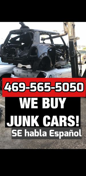 Cash for old unwanted cars for Sale in Grand Prairie, TX