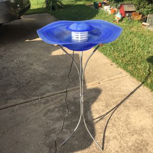 Misting fountain with led lighting for Sale in Mesquite, TX