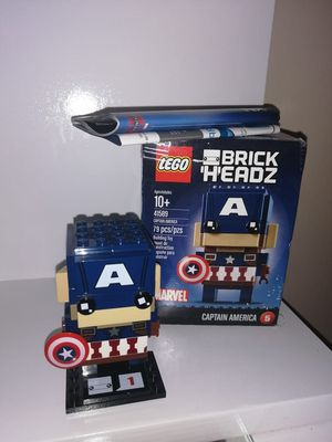 Captain america lego brickhead for Sale in Tijuana, MX