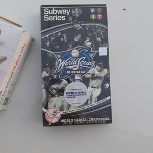 New York Yankees VHS Subway Series for Sale in Port Richey, FL