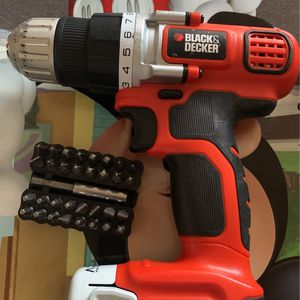 Black & Decker 12V Lithium Drill LDX112 Type 1 10mm, W/LB12 Battery, W/ charger for Sale in New York, NY
