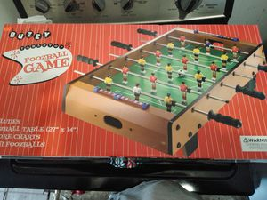 Buzzy's tabletop foosball for Sale in Tulsa, OK