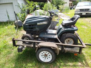 Yard Machine 42 inch deck , with a 17 hp twin briggs & Stratton motor , needs work , needs to be cleaned and a battery, it ran last time used for Sale in Kinston, NC