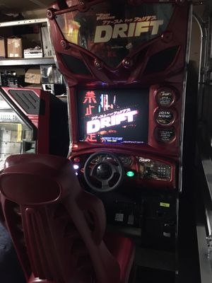 Fast and furious drift dedicated coin operated for Sale in Fresno, CA