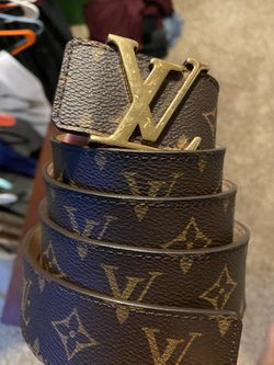 Men's brown Louis Vuitton belt for Sale in Piedmont,  OK