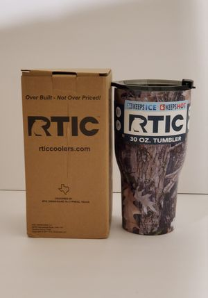 RTIC 30 oz Kanati camo tumbler for Sale in Modesto, CA