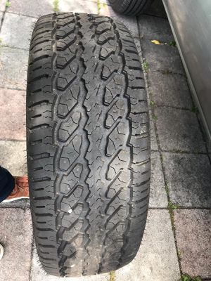 2 MASTERCRAFT COURSER 17INCH TIRES ONLY for Sale in Miami, FL