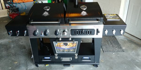 Pit Boss Memphis Ultimate Gas Grill Charcoal And Electric