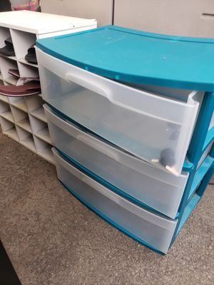 Plastic drawer for Sale in Union City, CA
