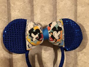 Disney Mickey Mouse Sequin Ears for Sale in Hollywood, FL