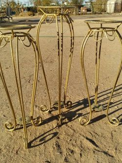 Metal Flower Vases 4 For $150 for Sale in Tucson,  AZ