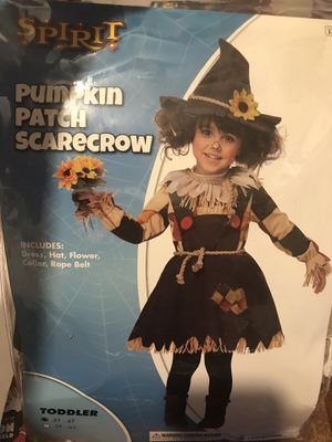 Pumpkin patch scarecrow costume for Sale in Catonsville, MD