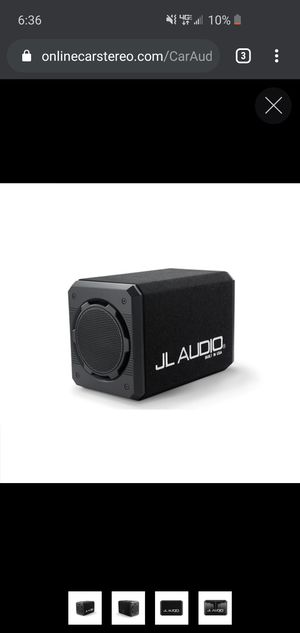 """JL AUDIO DUAL 10"""" SHALLOW MOUNT for Sale in Port Isabel, TX"""