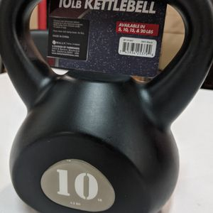 10 Lb Black Kettlebell for Sale in Snohomish, WA
