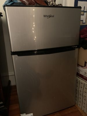 Whirlpool 3.1 cu ft Mini Refrigerator Stainless Steel BCD-88V for Sale in Washington, DC