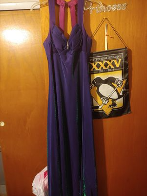 Shocking color Prom dress (MEET only) for Sale in Philadelphia, PA