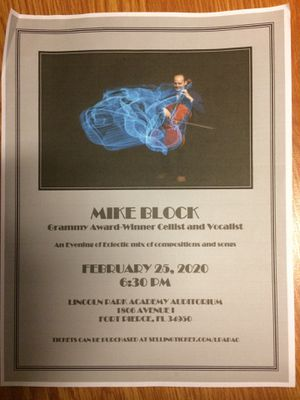 Mike Block Concert for Sale in Fort Pierce, FL