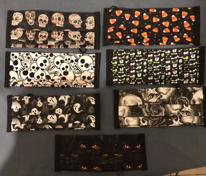 Women's/teens Halloween spooky masks face covers for Sale in Santa Fe Springs, CA