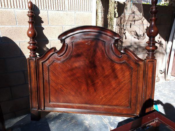 Full/Queen solid wood headboard