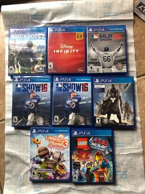 PS4 games for Sale in Colton, CA