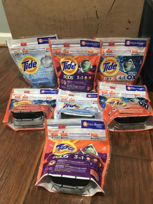 tide pods tide detergent laundry for Sale in Silver Spring, MD
