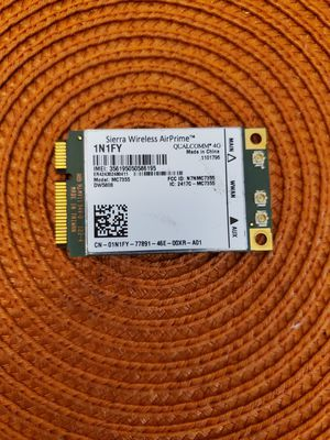 OEM Dell 1N1FY MC7355 4GLTE/HSPA+GPA 100Mbps Sierra Wireless AirPrime Card Test for Sale in Laurel, MD