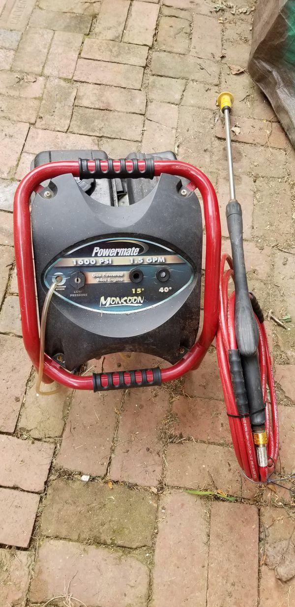 Preasure washer powermate