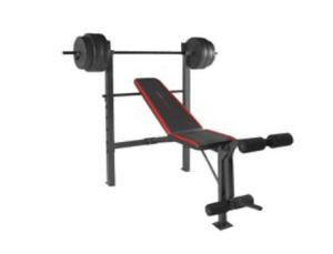 Brand new never opened bench press with 100 pound weight for Sale in Miami, FL