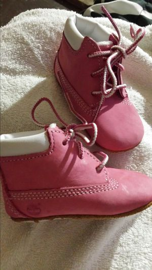Baby Girl Timberland Boots size 1c for Sale in Warren Park, IN