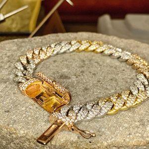 Men's 14k SOLID GOLD Diamond Bracelet 8ctw 85 Grams for Sale in Plano, TX