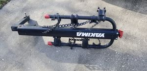 Yakima DoubleDown 4 Hitch-Mount Bike Rack w/lock Bike adapters for Sale in Sanford, FL