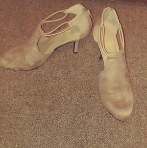 Dark tan Heels size 6.5 for Sale in Fulton, MO