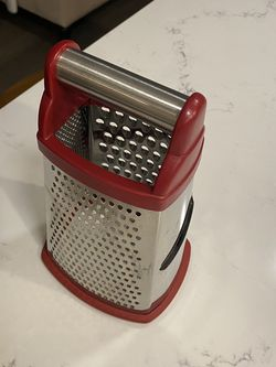 KitchenAid Large Grater Red Box Four Sided For Cheese Chocolate Vegetable Zester for Sale in Gresham,  OR