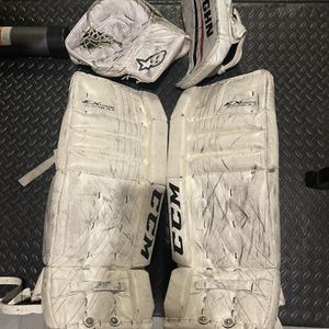 Ice hockey goalie Equipment for Sale in Sherman, CT