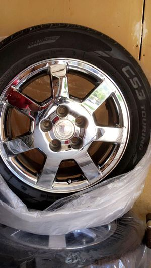 "Cadillac ""17 rims for Sale in Fresno, CA"