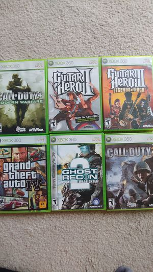Xbox 360 games all for 10 for Sale in Arlington, VA