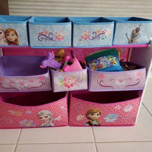 Disney Frozen Toy Storage Bin for Sale in Fort Lauderdale, FL